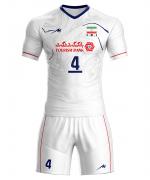 پیراهن و شورت تیم ملی والیبال ایران - سفید