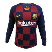 پیراهن اول بارسلونا 20-2019 آستین بلند