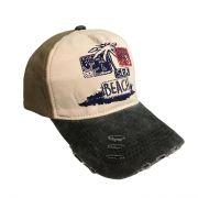 کلاه نقابدار جین طرح Beach سبز