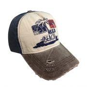 کلاه نقاب دار جین طرح Beach سورمه ای