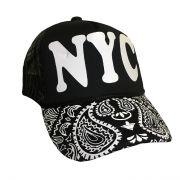 کلاه نقابدار مشکی طرح NYC