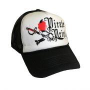 کلاه نقابدار پشت توری طرح دزد دریایی