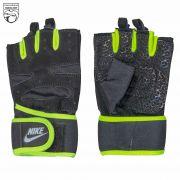 دستکش ورزشی مردانه سبز مشکی نایکی