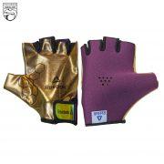 دستکش ورزشی زنانه ریباک طلایی