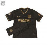 پیراهن و شورت بچگانه بارسلونا 2021