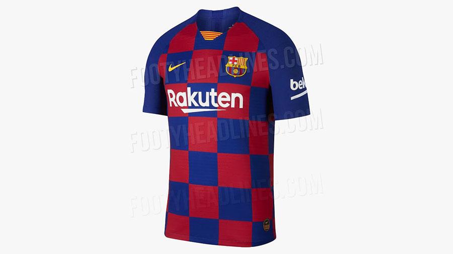 لباس جدید تیم فوتبال بارسلونا