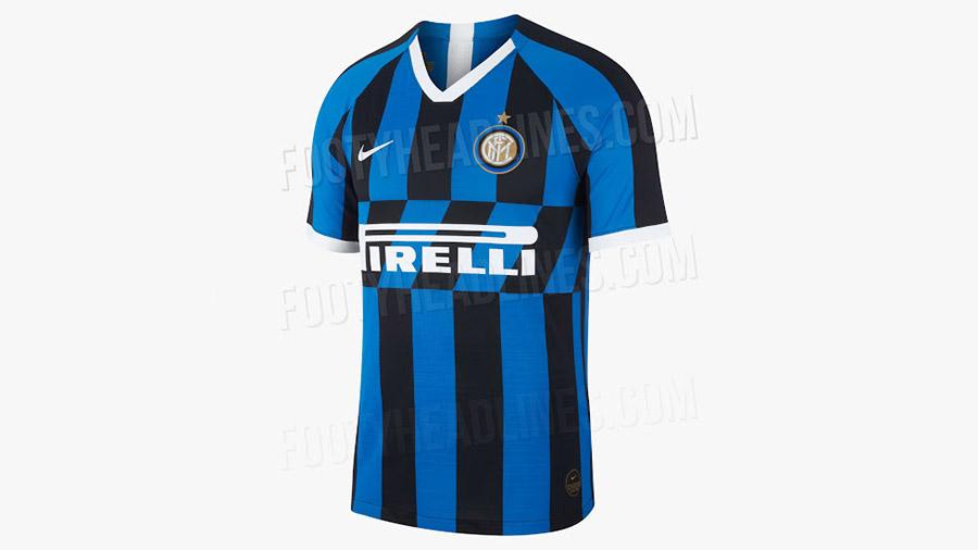 لباس جدید تیم فوتبال اینتر میلان