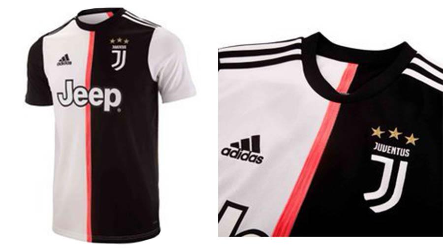 لباس جدید تیم فوتبال یوونتوس