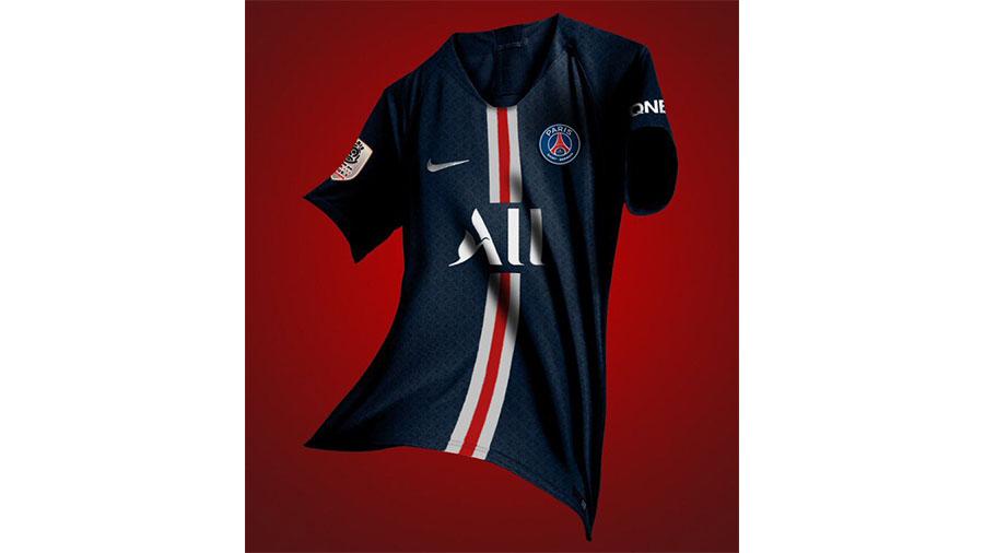 لباس جدید تیم فوتبال پاری سن ژرمن