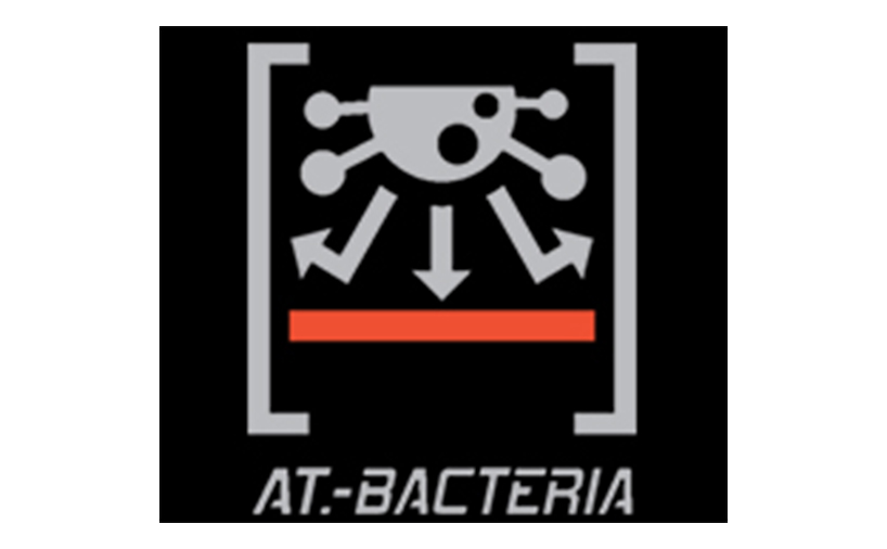 نماد تکنولوژی AT-BACTERIA از برند لی نینگ