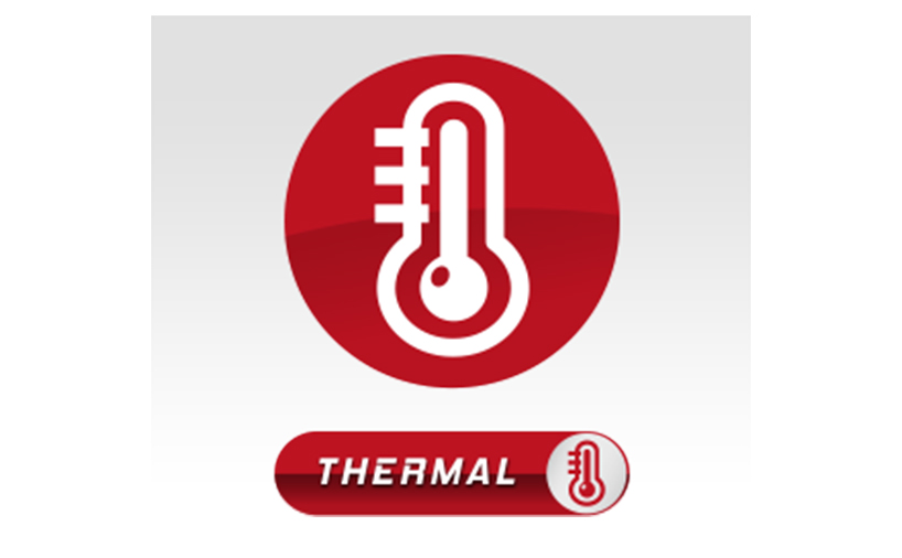 نماد تکنولوژی THERMAL از برند لی نینگ