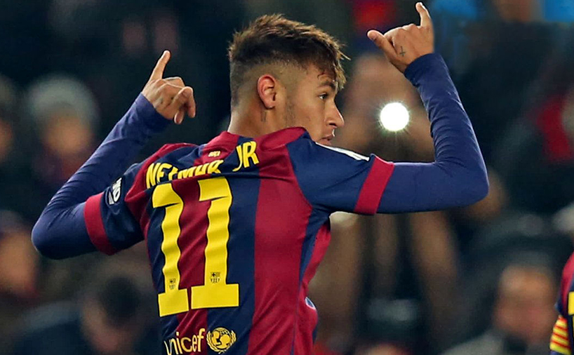 نیمار در تیم بارسلونا