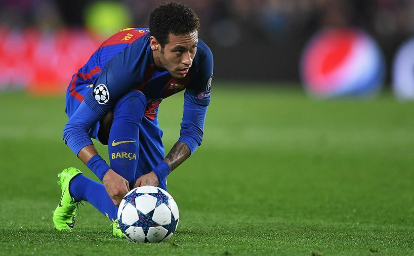 نیمار در تیم باشگاه بارسلونا اسپانیا