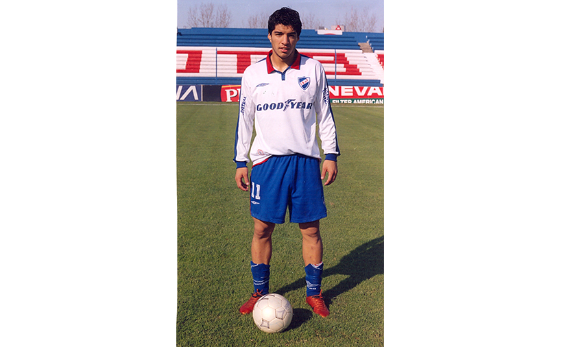 لوییز سوارز در تیم ناسیونال