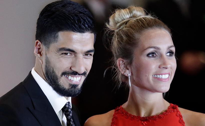 لوییس سوارز و همسرش سوفیا بالبی