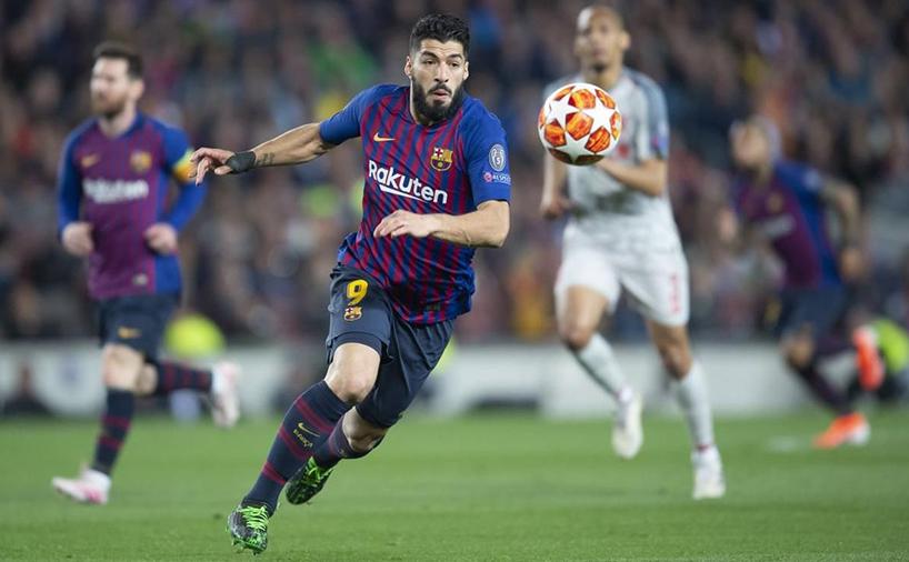 سوارز در تیم فوتبال باشگاه بارسلونا