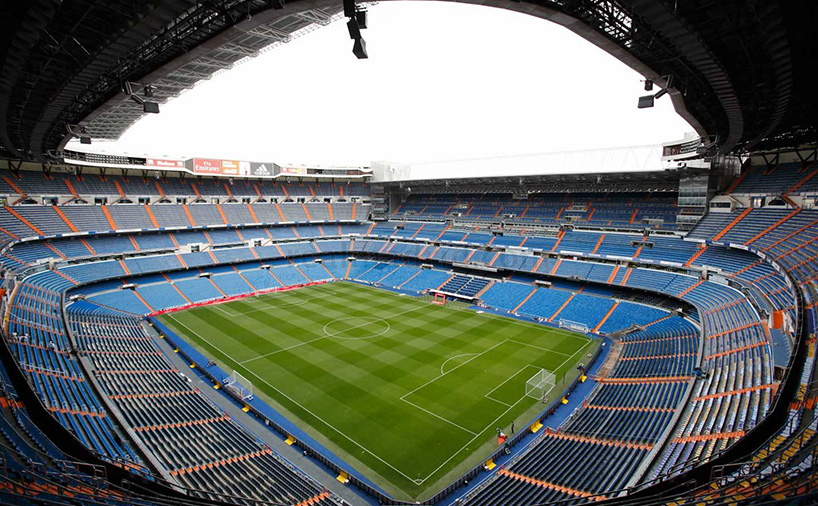 ورزشگاه خانگی رئال مادرید سانتیاگو برنابئو