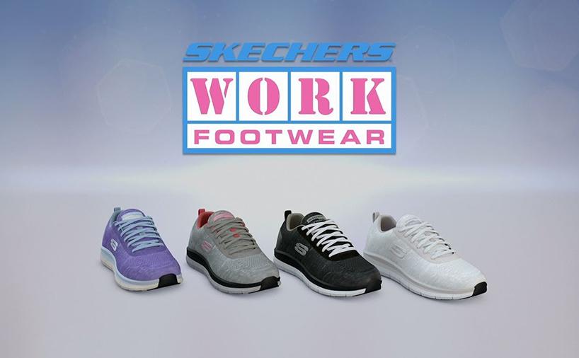 کتانی های سری work footwear از برند اسکیچرز